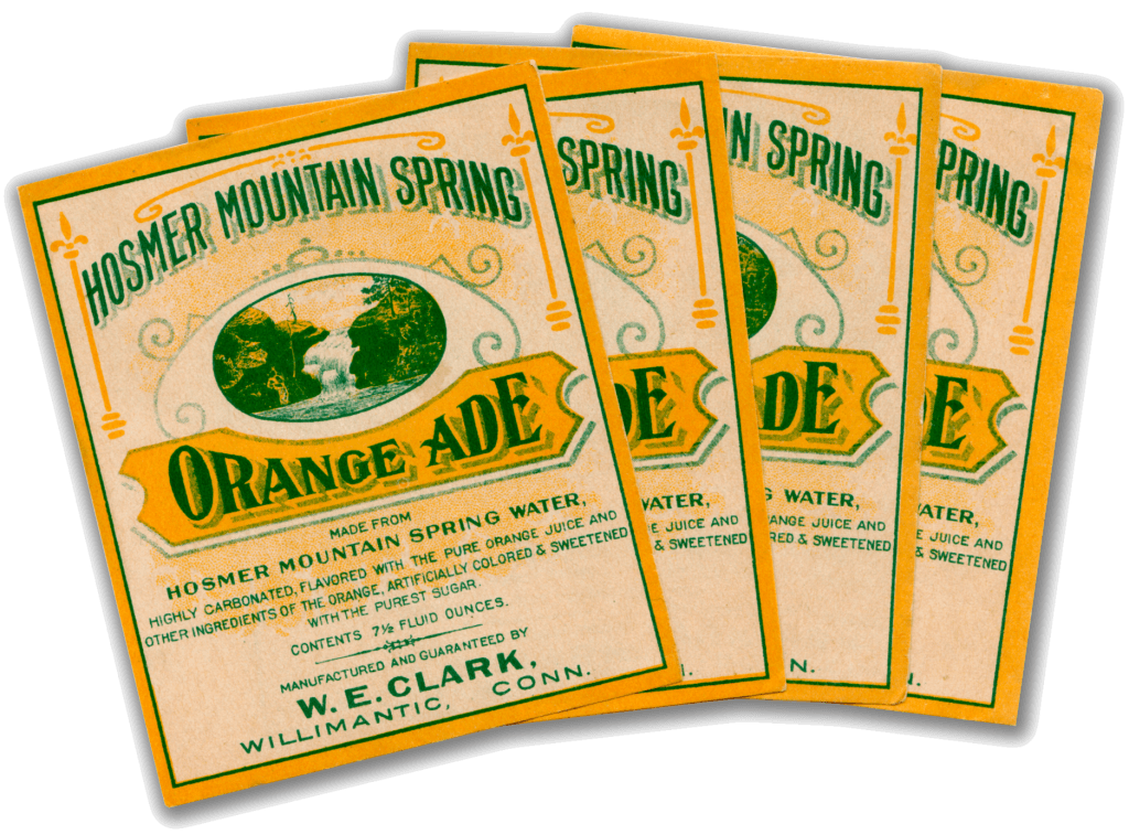 Orange Ade Original Labels