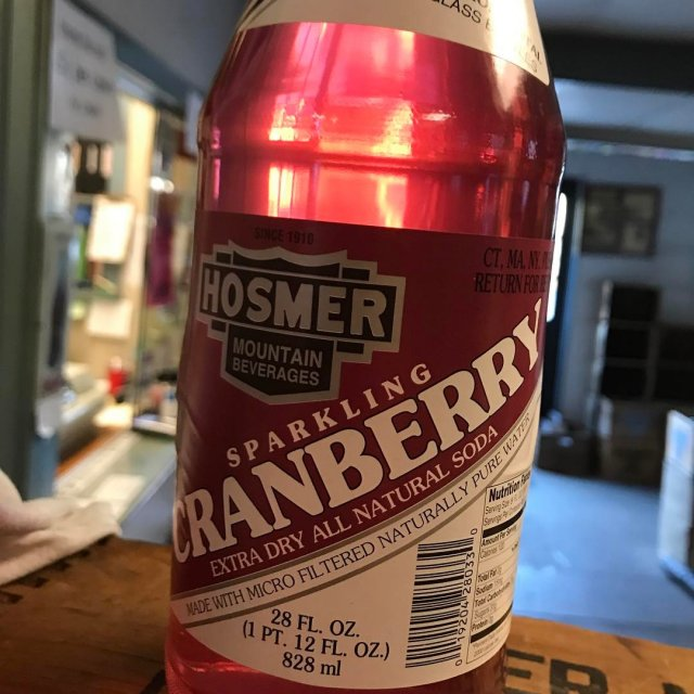 cranberry is back! cranberrysoda hosmermountainsoda