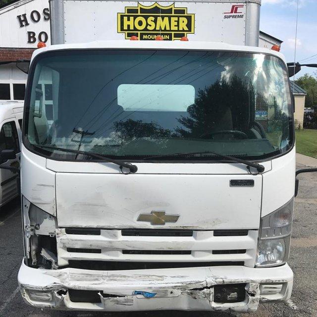 Poor Hosmer Truck!