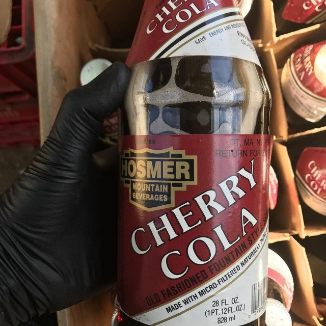 CherryCola is back only in 28 oz bottles!