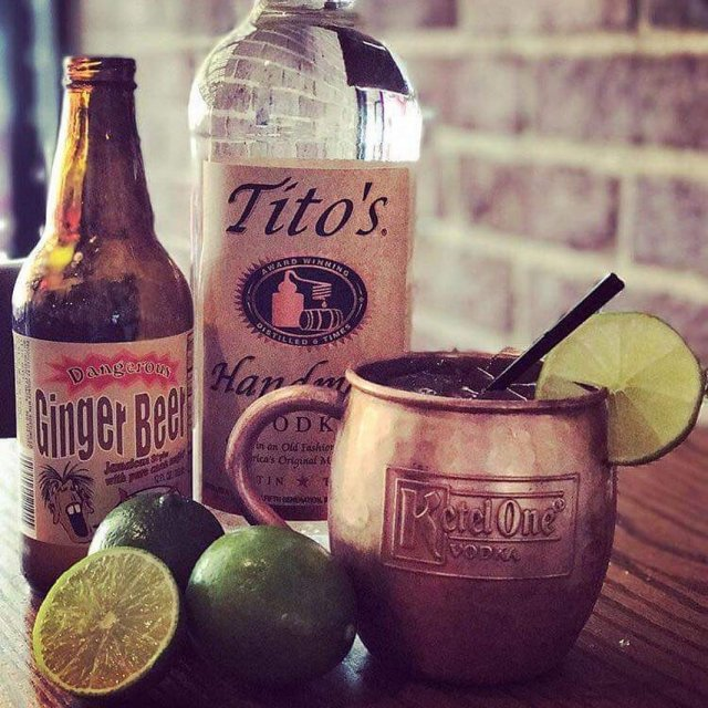 Great way to kickoff your weekend  Titos Vodka Hosmerhellip