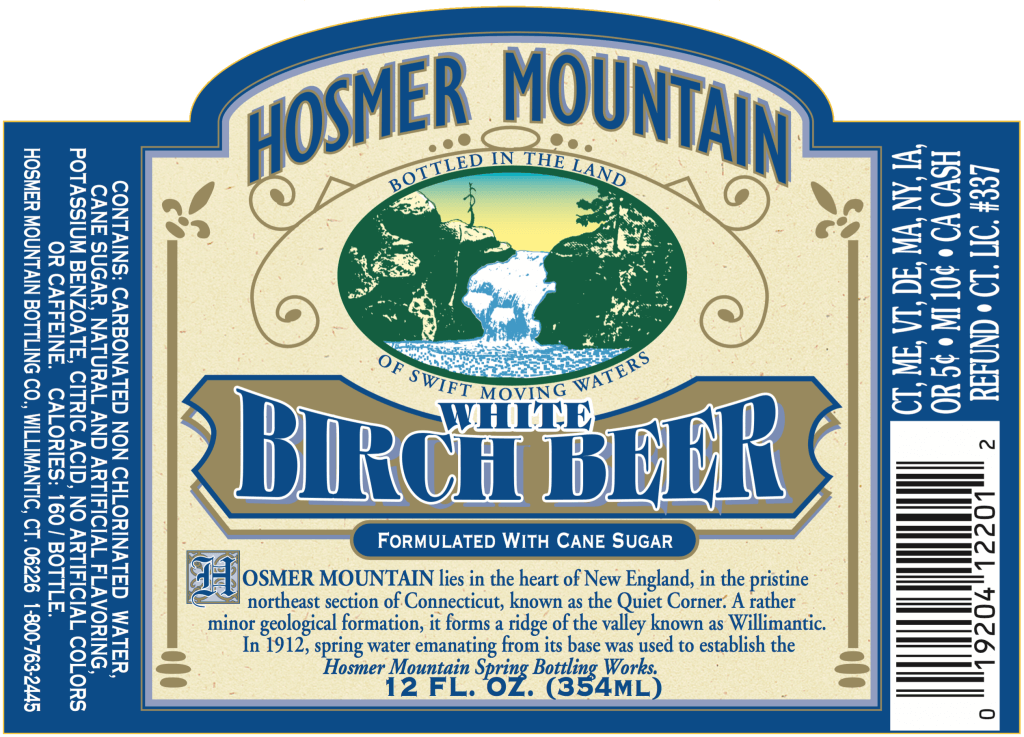 Hosmer Mountain's signature beverage … New England style. It's clear, but surprisingly bold, minty and oh so refreshing!